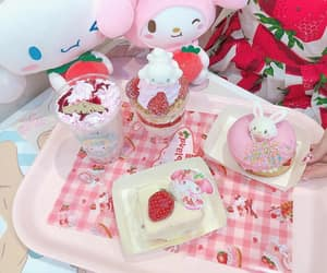 cinnamoroll, my melody, and sanrio image