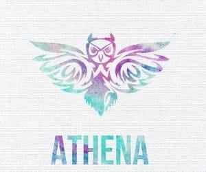 athena, wallpaper, and pjo image