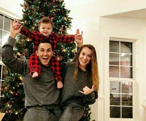 amor, baby, and christmas image