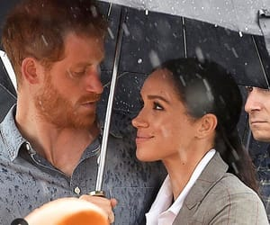 prince harry, sussex, and meghan markle image