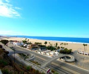 beach, usa, and california image