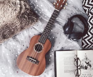 music, guitar, and book image