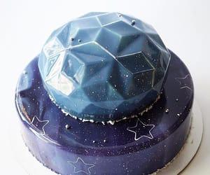 blue, cake, and glitter image