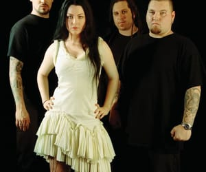 amy lee, black, and evanescence image