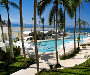 hotel, mexico, and vacation spot image