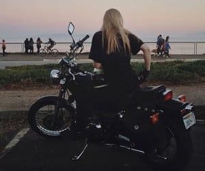 aesthetic, bike, and harley davidson image