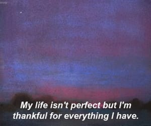 quotes, life, and thankful image