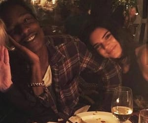 couple and kendall jenner image