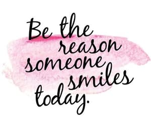 quotes, smile, and pink image
