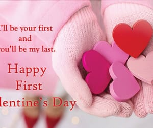 valentines day quotes, 1st valentines day, and first valentine quotes image