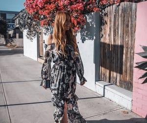 autumn, fashion, and dress image