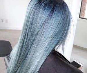 blue haircolor image
