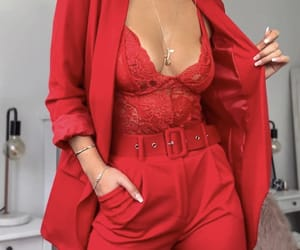 fashion, red, and inspiration image