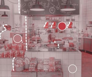 aesthetic, pink, and store image