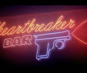 bar, club, and lights image