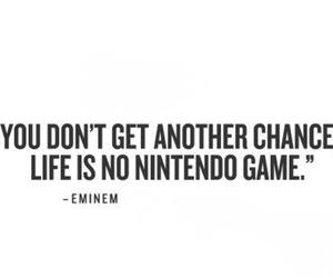eminem, life, and quote image