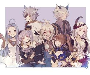 anime, girl, and group image