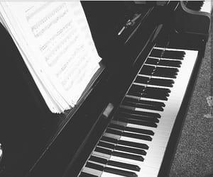 making music, piano, and music image