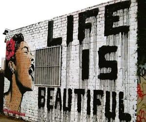 life, beautiful, and graffiti image