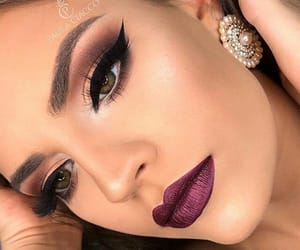 beauty, fashion, and maquillaje image