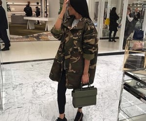 beauty, camo, and style image
