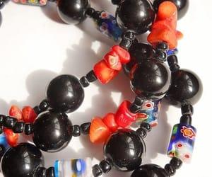boho, lampwork necklace, and etsy image
