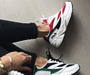 awesome, Fila, and green image