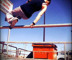 sport, le parkour, and fitspo image