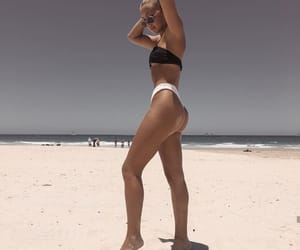 beach, girl, and healthy image