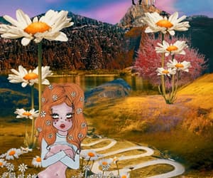 Collage, digital art, and valfre image