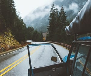 roadtrip, travel, and nature image