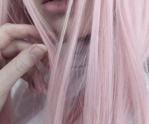 aesthetic, hair, and pale image