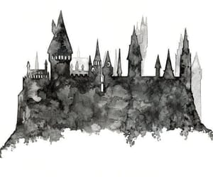 hogwarts and art image