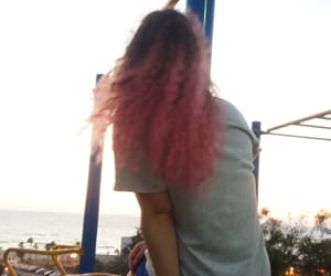 colo, colored hair, and pink image