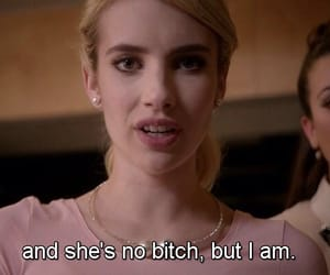 scream queens and emma roberts image