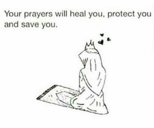 prayer, allah, and islam image