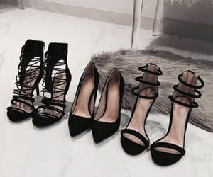 shoes, fashion, and black image