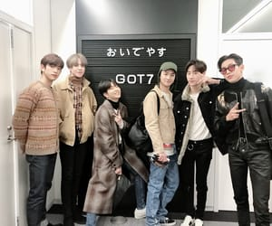 got7, JB, and mark image