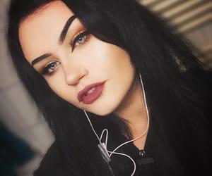 alternative, metal girl, and beauty image