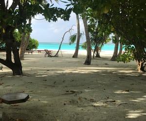 Maldives, ocean, and paradise image