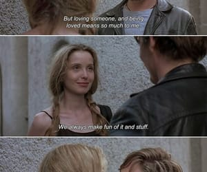 before sunrise, movie, and quotes image