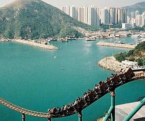 amusement park, china, and hong kong image