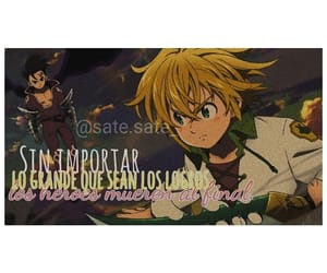anime, meliodas, and ban image