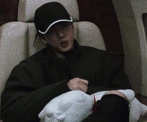 rj, bts, and kim seokjin image