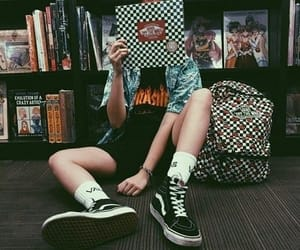 vans, grunge, and aesthetic image