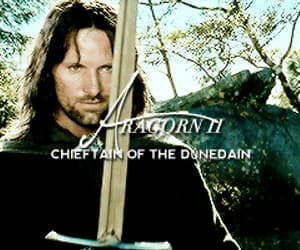 aragorn, tolkien, and character image