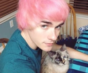 pink, awsten knight, and waterparks image