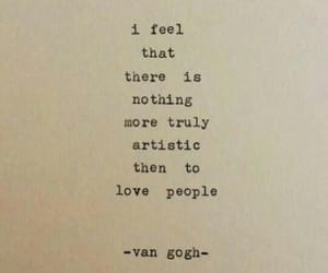quotes, van gogh, and love image