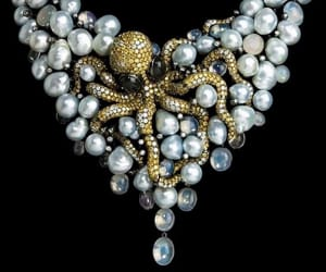 belleza, collar, and joya image