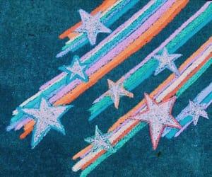 art, chalk, and colour image